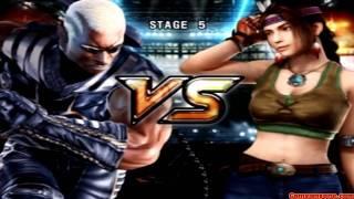 Tekken 5 - Story Battle - Raven Playthrough