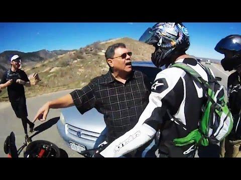 Stupid, Crazy & Angry People Vs Bikers 2017 | Road Rage -
