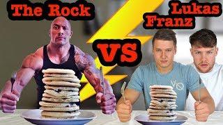"Dwayne ""The Rock"" Johnson's Cheat Meals Challenge mit Lukas Galgenmüller | 10.000 Abonnenten Special"