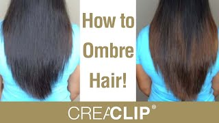 How to DIY Ombre color at home! Color your own hair!