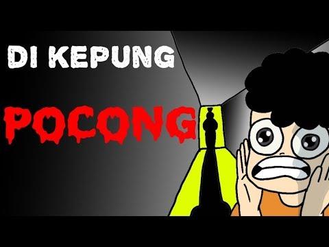 Kartun Lucu - DiKepung Pocong - Kartun Hantu - Funny Cartoon - Kartun Anak Indonesia