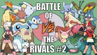 Battle of the Rivals #2 (Dawn vs May) - Pokemon Battle Revolution (1080p 60fps)