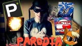 TOP 4 Youtuber Horror Parodia (feat. Mortebianca)