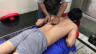 ASMR Deep Tissue Full Body Massage By Khursheed Alam Part-2 (Saurabh)
