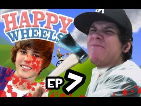 100 MANERAS DE MATAR A JUSTIN BIEBER Happy Wheels ep. 7