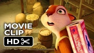 The Nut Job Movie CLIP - Can We Be Friends? (2014) - Liam Neeson Animated Movie HD