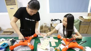 Inside a Drone Factory in China. What