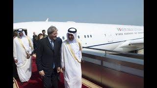 Il Presidente Gentiloni incontra l'Emiro del Qatar (01/11/2017)