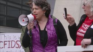 Laurel Crosby Speaks at the #MillionsMissing San Francisco Demonstration