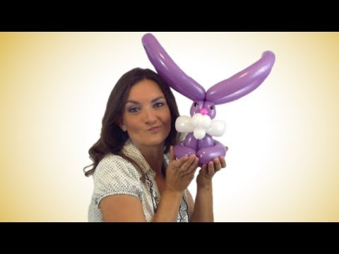 Easy Bunny Balloon Animal How To Instructions