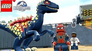 O DINOSSAURO DO ARANHA DE FERRO GUERRA INFINITA no LEGO Jurassic World Criando Dinossauros #67