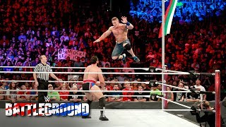 John Cena and Rusev dig deep to win one for their respective countries: WWE Battleground 2017
