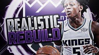 GAME 7 BUZZER BEATER!! KINGS REALISTIC REBUILD!! NBA 2K18