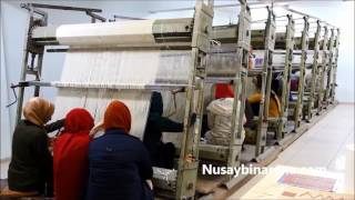 Nusaybin Halı Eğitim Merkezinde Halı Dokuma Kursu Açıldı