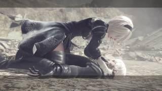 Nier Automata - Final Boss & 2B Ending (Ending A)