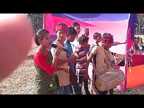 Amoni sali bihu dance and bhelaghar