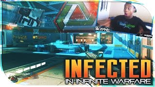 INFECTED IS BACK in Infinite Warfare!! Infinite Warfare LIVE INFECTED Multiplayer Gameplay (iw beta)