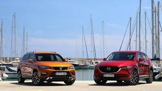 Comparatif – Mazda CX-5 vs Seat Ateca : le bal des outsiders.