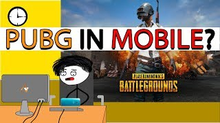 When Gamer Plays PUBG For First Time In Mobile
