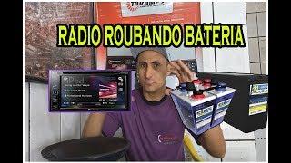 Como saber se seu radio está roubando baterias#playsound