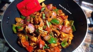 How To Make Chicken Shashlik With Gravy - Chicken Shashlik Video recipe by (HUMA IN THE KITCHEN)