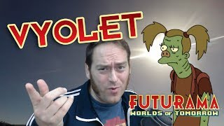 Drummer Challenge and Getting Vyolet (Futurama Worlds of Tomorrow)