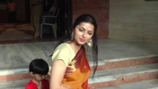 Bhumika Chawla Spotted With Son and Husband at inauguration of  Art Exhibition