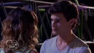 Violetta saison 2 - Extrait : Diego embrasse Violetta (épisode 39) - Exclusif