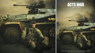 Photoshop Tutorial Create an Action Movie Poster