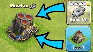 MAX MULTI MORTAR GEAR UP | Clash of Clans | NEW Update Gameplay