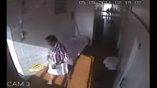 Live CCTV Capture VISA Cheater Caught by CCTV camera in Trivandrum