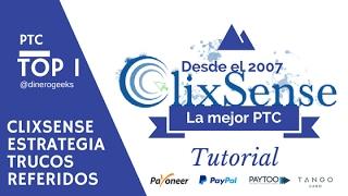 Clixsense Como Funciona Estrategia y Trucos 2016 |  PTC Confiable