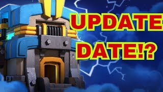 TOWN HALL 12 UPDATE DATE DISCUSSION || LIVE WAR || CLASH OF CLANS ||