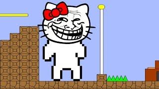 IT SHOOTS LASERS!?!?   Cat Mario   Fan Choice Friday