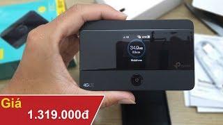Trên tay máy phát wifi di động TP Link M7350 giá 1.300k