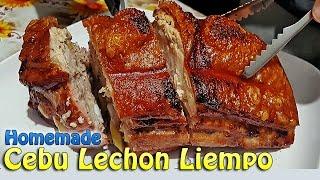 Homemade Cebu Lechon Crispy Roasted Pork Belly (w/ Eng Subtitles)   ChubbyChiniCatt