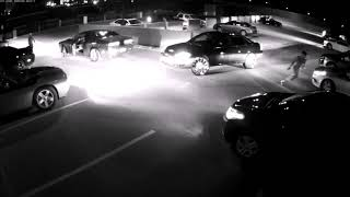 Security cam video shows more than 100 shots fired in Tuscaloosa parking deck fight