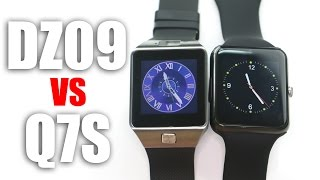 DZ09 vs Q7S: A Comparison of Smartwatches with MTK6260A Chipset