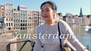 Visiting Amsterdam | TRAVEL VLOG
