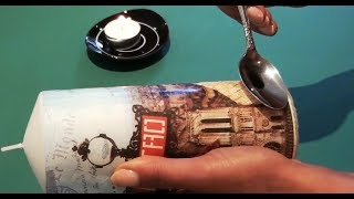 How to Transfer an Image to a Candle - DIY Create Decorative Candles