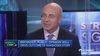 Bill Browder says Magnitsky Act could be used in Khashoggi case   Street Signs Europe