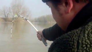 Waller fishing Tour mit Benno Korak März 2015 www.fluss-hunter.at