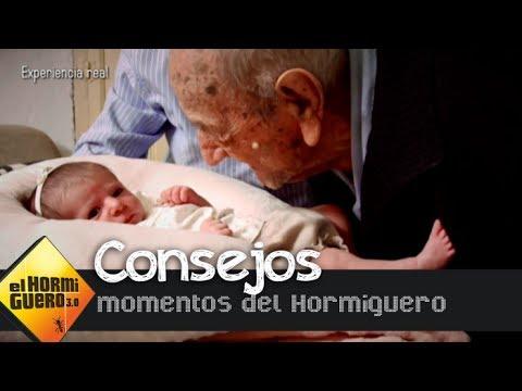 El consejo de un hombre de 112 años a un recién nacido El Hormiguero 3.0
