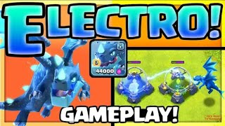 ELECTRO DRAGON GAMEPLAY + EXCLUSIVE INTERVIEW - Clash of Clans Town Hall 12 UPDATE!