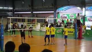 (U16) Men Volleyball FInals Sarawak vs Selangor Set 1 (part 1)
