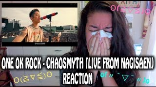 ONE OK ROCK - Chaosmyth (Live from Nagisaen) [Reaction Video] ~GUESS WHO CRIED AGAIN?!~