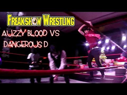 Xxx Mp4 Freakshow Wrestling Side Show Freak Battle Royal Dangerous D VS Auzzy Blood 3gp Sex