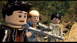 LEGO Jurassic World - The Lost World: Jurassic Park - All Cutscenes | Movie [HD]