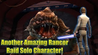 Star Wars Galaxy of Heroes: Commander Luke Skywalker is Amazing for Soloing the Rancor Raid!