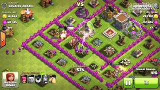the attack of clash of clan